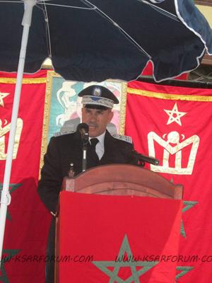 حركة تنقيلات أمنية بإقليم العرائش : : العميد الادريسي إلى وزان و العميد سيد الراضي إلى  المضيق