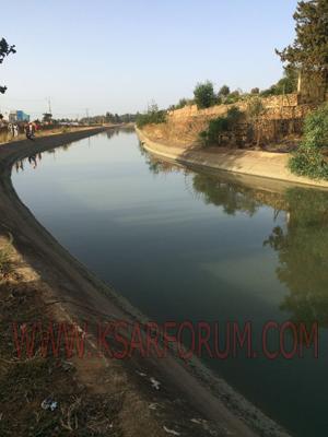 أولاد رافع : انتشال جثة فتاة توفيت غرقا بقناة الري