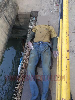 عاجل : انتشال جثة شاب من دار الدخان غرق بقناة الزوادة