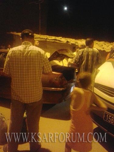 توقيف سيارة على متنها خسمة أشخاص بحوزتهم مخدرات بحي الوهراني