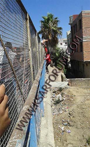 عاجل : محاولة انتحار شاب في قنطرة المحمدي