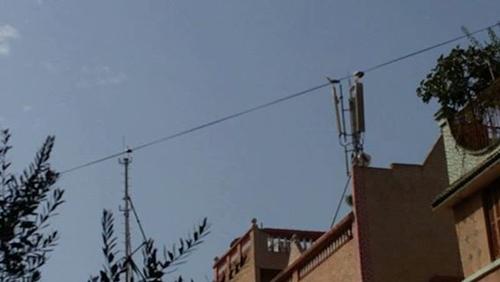 ساكنة حي السلام تحتج على تثبيت لاقط هوائي خاص باتصالات المغرب
