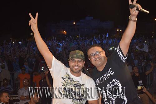 الفنان مسلم يلهب ساحة سيدي عبد الله المظلوم في اختتام مهرجان الحياة