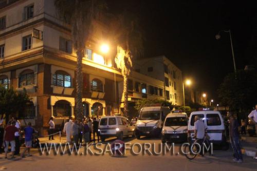 """القصر الكبير : بعد تدخل الشرطة العلمية … توقيف المدعو """" ولد اسمينة """" بسبب السرقات"""