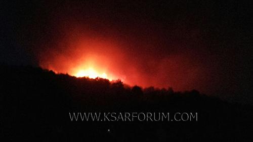 بوجديان : النيران تحاصر سيدي بوصفرة و الأهالي لوحدهم في مواجهة الحرائق و اللصوص