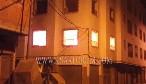 النيران تلتهم منزلا بحي الأندلس بسبب قنينة غاز