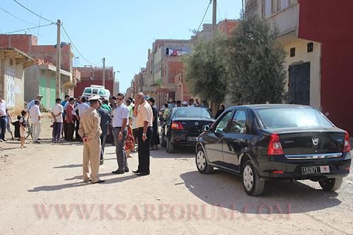 """بسبب أرض """" سيدي مخلوف """" .. السلطات تعترض مسيرة للشرفاء الحاتميين و """" تفاوضهم """""""