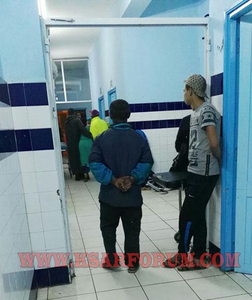 القصر الكبير : اعتداء على العاملين بالمستشفى المدني من طرف شخصين