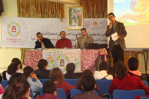 فعاليات البرنامج الإقليمي لتظاهرة العلم و الشباب تتواصل بالعرائش والقصر الكبير