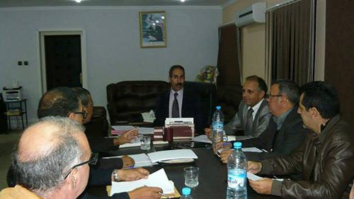 اللجنة الوظيفية لأطر الإدارة التربوية تصدر بلاغا إخباريا حول اجتماعها مع المدير الإقليمي لوزارة التربية الوطنية
