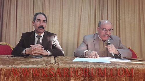 المدير الاقليمي ورئيس مفوضية الشرطة يفتتحان الحملة التحسيسية للأمن الوطني بالمؤسسات التعليمية