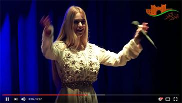خولة بن عمران تغني بدار الثقافة