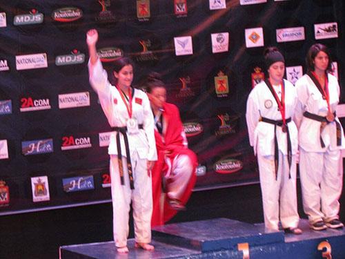 جمعية التنين الأخضر للتيكواندو تحصد 15 ميدالية ذهبية في دوري سلا