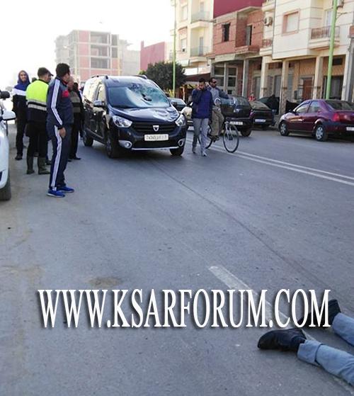 حادث سير بطريق العرائش يخلف إصابات خطيرة لراكب دراجة