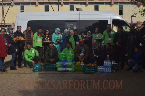 جمعية رحاب النور للثقافة و نادي الثقافة و الفن في زيارة خيرية للدار المسنين و المستشفى المدني