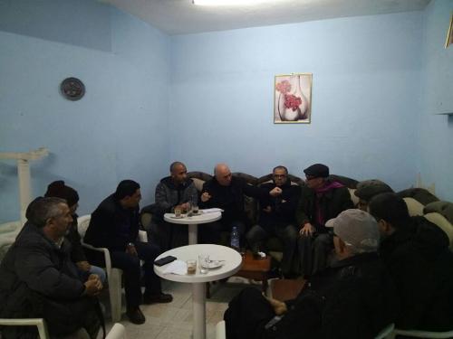 المركزيات النقابية الأربع في لقاء مع باشا المدينة لتدارس تدهور الوضع الأمني بالمستشفى المدني بالقصر الكبير