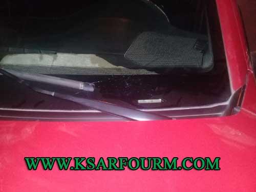 استهداف سيارة أجرة قرب سينما المنصور و محاولة الاعتداء على راكبتها