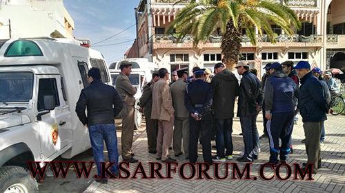 السلطات المحلية تباشر حملة موسعة لمحاربة الباعة الجائلين و احتلال الملك العام