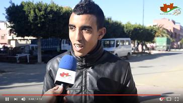 الجمهور القصري و مقابلة المغرب V مصر