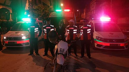 ليلة رأس السنة : حملة أمنية تسفر عن توقيف 46 شخصا بتهم مختلفة – فيديو –