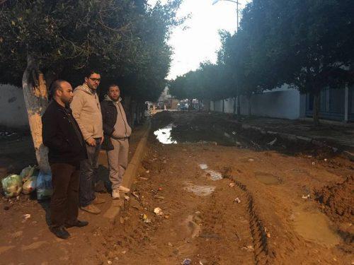 فريق البيجيدي بالقصرالكبير يراسل عامل الاقليم بشأن تعطل أشغال صفقة تهيئة الشوارع بالمدينة