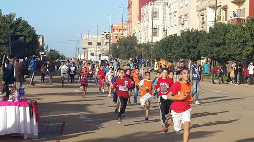 جمعية الفتح لألعاب القوى تحتفل بعودة المغرب إلى البيت الإفريقي