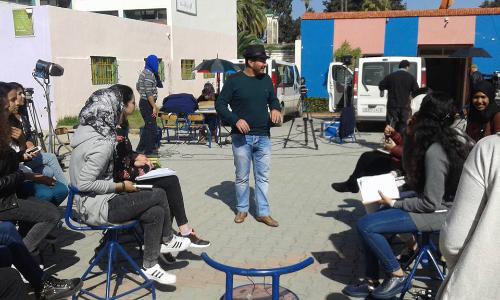 """البرنامج الشبابي """"واش فهمتونا """" يحط الرحال يالثانوية المحمدية"""