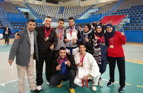 كراطي : النادي الملكي يحصد 17 ميدالية في البطولة الجهوية للكبار بطنجة