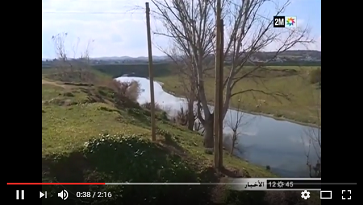 تلوث نهر اللوكوس