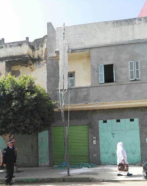 """نقل صباغ في حالة حرجة إلى طنجة بعد سقوطه من """" البامبا """""""