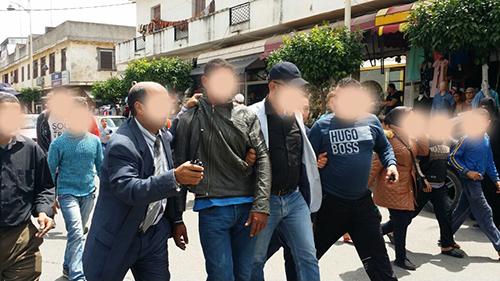 مواطنون يساهمون في توقيف لص بساحة سيدي بواحمد