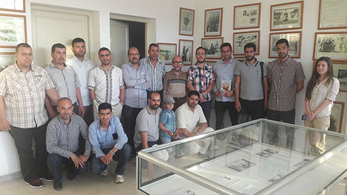 جمعية مدرسي الإجتماعيات في زيارة لفضاء المقاومة وجيش التحرير بالقصر الكبير