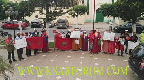 بلاد الريسوني : حرمان أسر من الإستفادة من بقع أرضية يدفعها للاحتجاج ببلدية القصر الكبير
