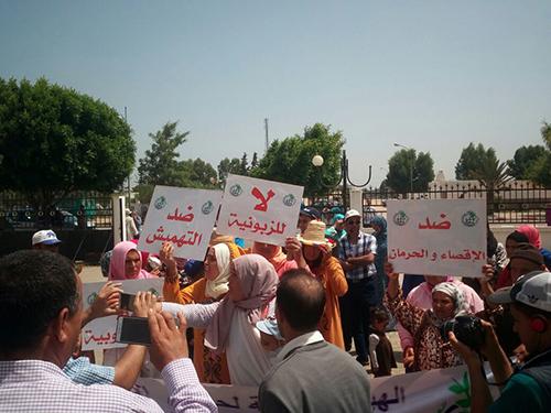 الحرمان من الكهرباء يخرج مواطنين للاحتجاج بالعوامرة