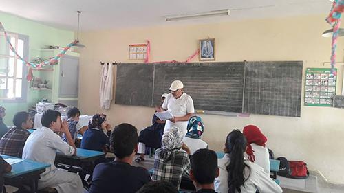 جمعية المبادرة للأعمال الإجتماعية : 200 تلميذ استفادوا من الدعم التربوي بمدرسة عبد الله الشفشاوني