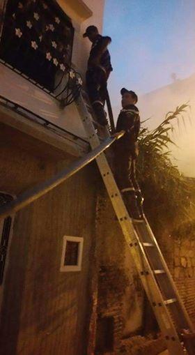 حريق بحي الزيتونة يثير هلع الساكنة