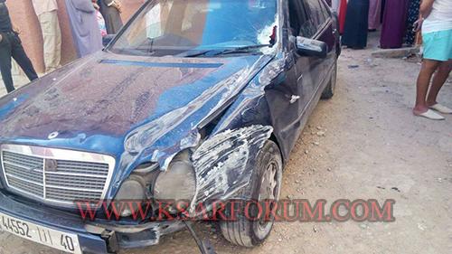 حي العروبة : تهور سائق يؤدي بشخصين إلى المستشفى الإقليمي – فيديو –