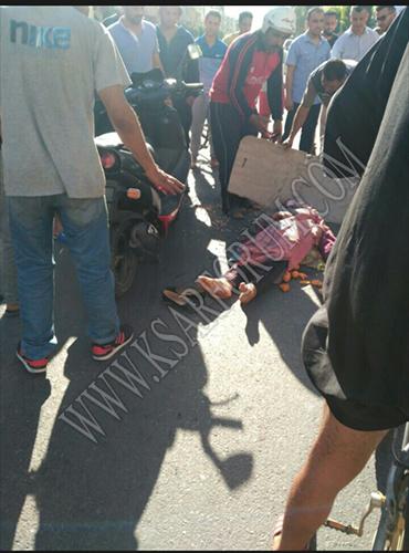 طريق العرائش : نقل سيدة في حالة خطيرة إلى طنجة بعد تعرضها لحادثة سير