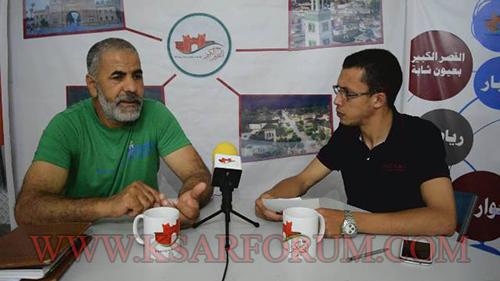 """مصطفى بوعبيد في حديث """" مع المجتمع المدني """" حول الكشفية الحسنية ، الدعم و الولاء"""