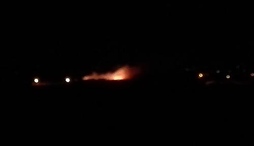 السيطرة على حريق بعزيب الرفاعي ضواحي القصر الكبير ـ فيديو ـ