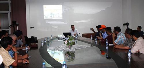 المجلس البلدي في لقاء إعلامي : مشاريعنا التنموية متعددة وغير مسبوقة وذات بعد استراتيجي