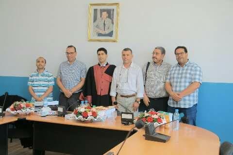 """اللواح يحصل على شهادة الدكتوراة في موضوع """"دور الإدارة العمومية في تحسين مناخ الأعمال بالمغرب """""""