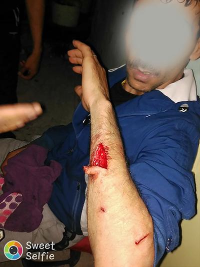 الهجوم على حارس ليلي بحي الأندلس و إصابته