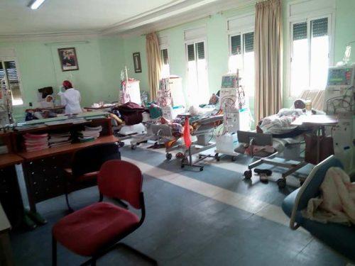وزارة الصحة العمومية والإخلال بالتزامها بتوفير طبيب بمركز تصفية الدم بالقصر الكبير!!!!