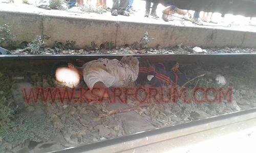القطار يقتل مجددا بمدينة القصر الكبير و الضحية مجهول الهوية
