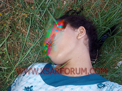 تجزئة السعادة : طالبة جامعية تقطع شرايين يدها في محاولة للانتحار