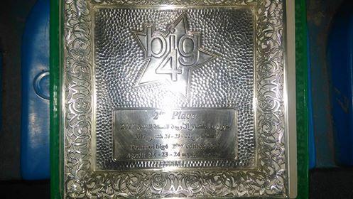 نادي لوكوس للفوتصال وصيفا في دوري الاربعة الكبار بأكادير