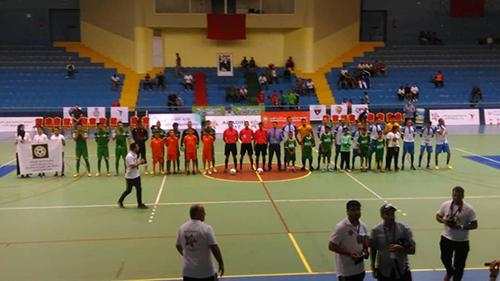 نادي لكوس القصر الكبير يتنصر على ديمنامو القنيطرة و يتأهل لنهاية دوري الأربعة الكبار