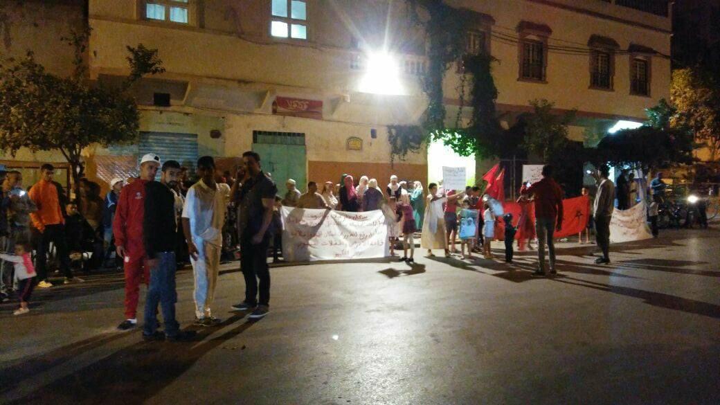 دار غيلان القصر الكبير : احتجاج ضد قاعة للأفراح