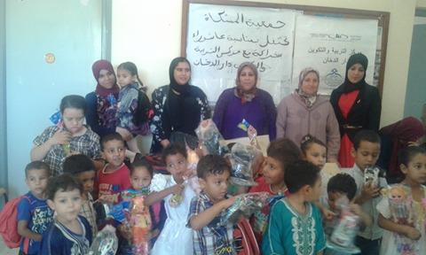 جمعية المشكاة تحتفل بأطفال مركز دار الدخان بمناسبة عاشوراء